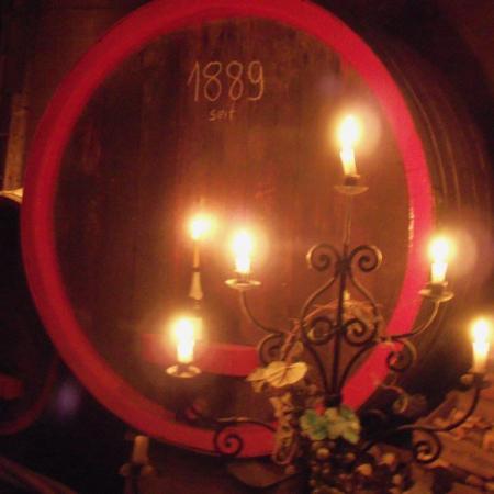 Burgkeller Weinfass