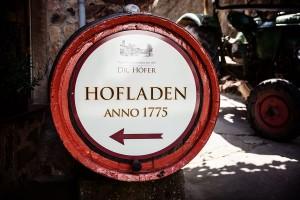 Hofladen anno 1775 Weingut Schlossmühle Dr.Höfer