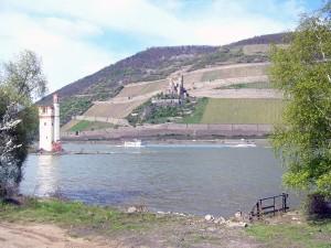 Mäuseturm im Rhein bei Bingen