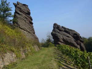 Weingut Höfer Trolbachtal Felsen