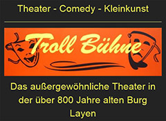 Troll Bühne Theaterkeller