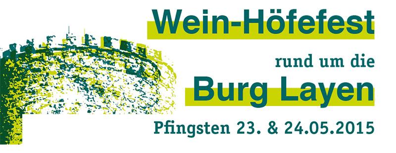 Burg Layen Wein Höfefest 2015