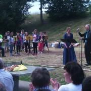 Rochus Schul Weinberg Einweihungsfeier