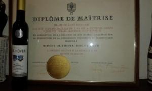 Weingut Höfer Riesling 2003 Diplome de Maitrise