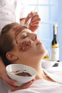 Wein und Beauty - Traubenkern Gesichtsmaske