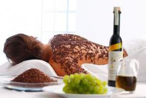 Wein und Beauty - Traubenkern Peeling